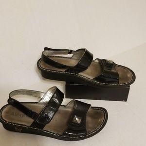 Alegria Ver-101 sandals women's shoes size 9